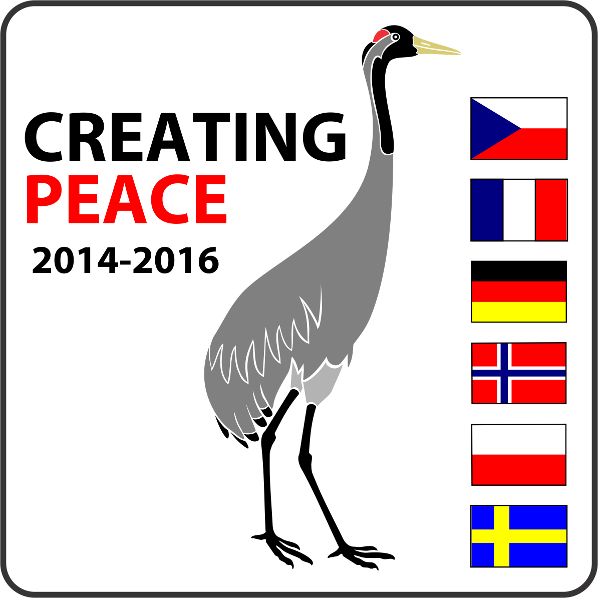 logo creating peace